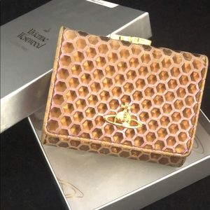 Vivienne Westwood Violet Honeycomb Wallet